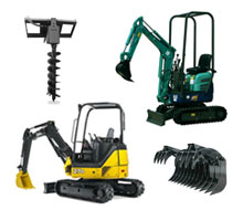 Earthmoving equipment rentals in the Minneapolis metro area