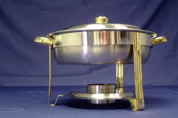 Where to find CHAFER, 4 QT STAINLESS ROUND in Elk River