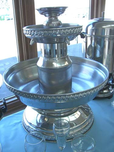 Champagne Fountain Silver 5gal Rentals Elk River Mn Where