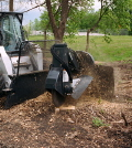 Rental store for BOBCAT STUMP GRINDER ATTACHMENT in Elk River MN