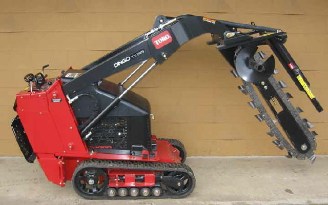 Where to find DINGO TRENCHER ATTACHMENT 3 in Elk River