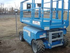 Where to find GENIE SCISSOR LIFT 4X4 in Elk River