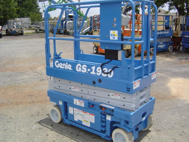 Where to find GENIE SCISSOR LIFT 19  PLATFORM in Elk River