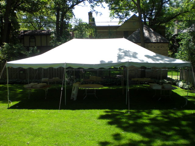Canopy 20x30 White Rentals Elk River Mn Where To Rent