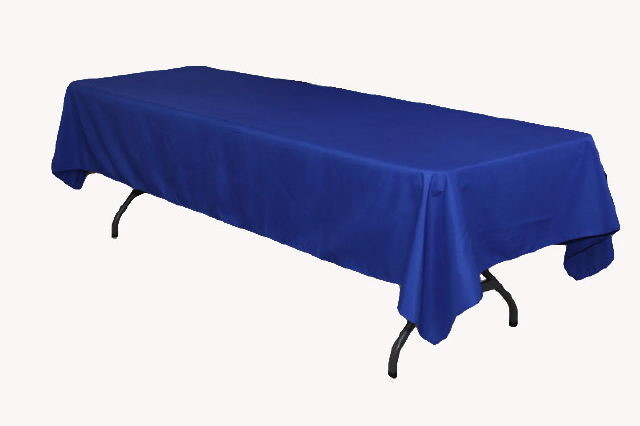 Linen table cloth 60x120 royal blue rentals elk river mn for Table 60x120