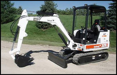 Where to find MINI EXCAVATOR 328 BOBCAT in Elk River