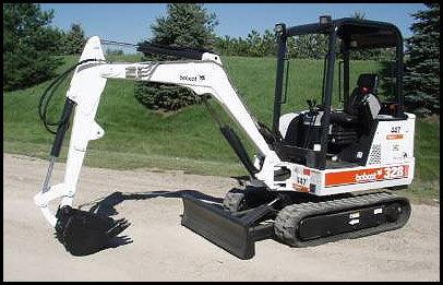 Mini Excavator 328 Bobcat Rentals Elk River Mn Where To