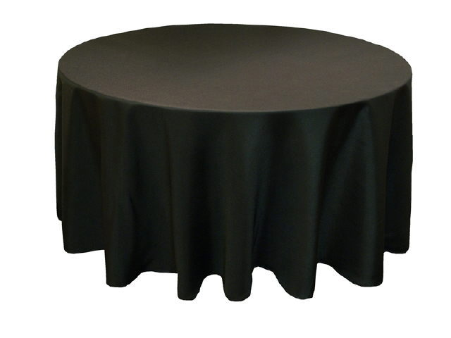 Where to find LINEN,TABLE CLOTH 120 RD BLACK in Elk River