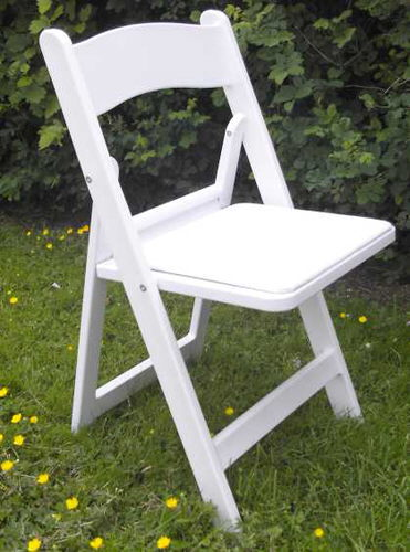 Where to find WHITE RESIN CHAIR in Elk River