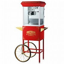 Where to find POPCORN MACHINE W CART  N in Elk River