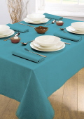 Where to rent LINEN,TABLE CLOTH 60X120 TEAL in Elk River MN