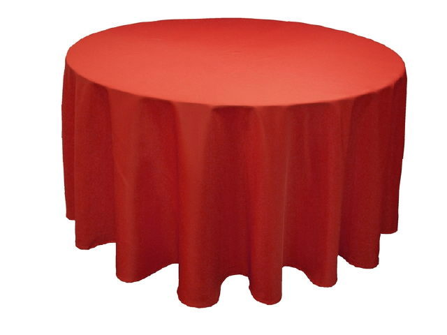 Where to find LINEN,TABLE CLOTH 90 RD RED in Elk River
