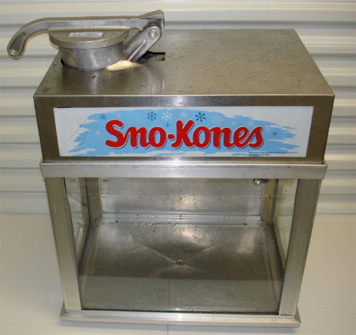 Where to find SNO-KONE MACHINE W CART N in Elk River