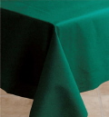 Rental store for LINEN,TABLE CLOTH 60X120 FOREST GREEN in Elk River MN