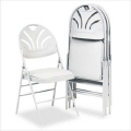 Where to rent CHAIRS, WHITE POLY PADDED in Elk River MN