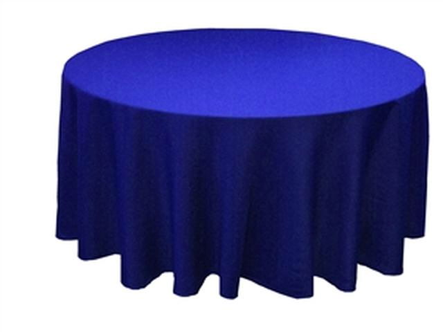 Where to find LINEN,TABLE CLOTH 120 RD ROYAL BLUE in Elk River